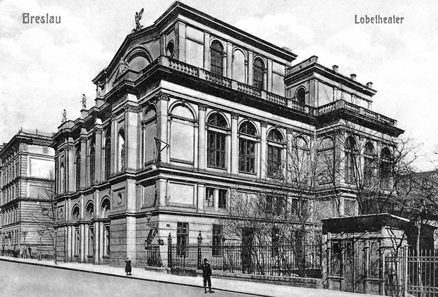 Lobe-Theater um 1900