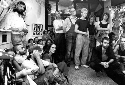 Eröffnung der Ausstellung T(R)aumbildung 1989 in der »Kleinen Galerie Radebeul«