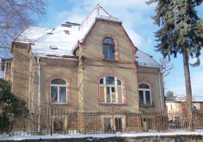 »Villa Heimburg«, Borstraße 15 (Ostansicht)