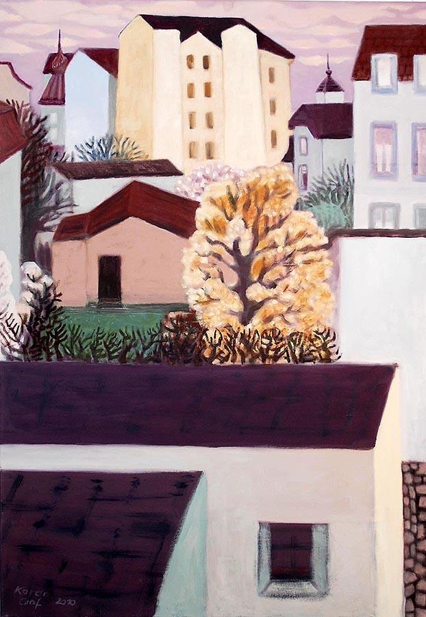 Karen Graf, »Frühling in der Stadt«, 2010
