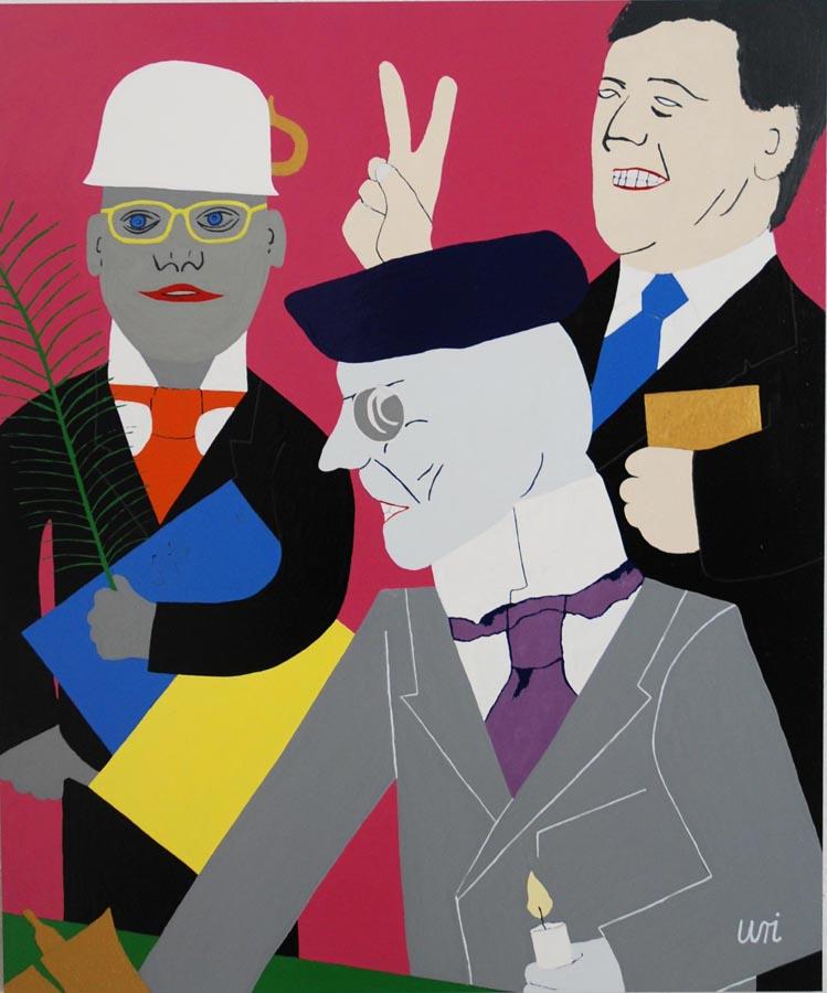 """Christian URI Weber, """"Neues aus der Anstalt"""", 2012"""