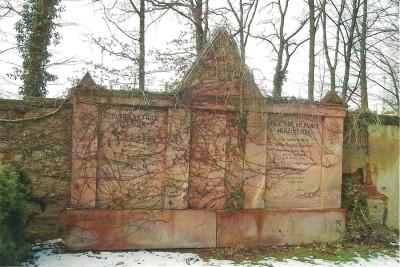 Das Grabdenkmal der Familie Haymann. Foto Brigitte Grunert.