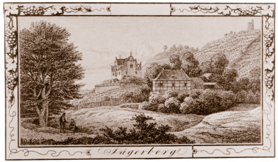 Ansicht vom Jägerberg, um 1850