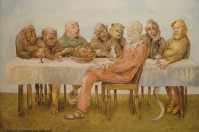 »Drei Grazien«, Öl, 2013