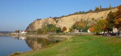 Weinwanderweg bei Diesbar-Seußlitz