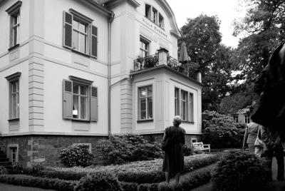Villa »Eurgenie«, Westansicht