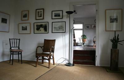Galerie  mit Weitblick in der Remise