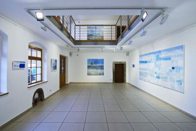 """Ausstellung """"Lumiere - Licht"""" von Sophie Cau in der Stadtgalerie Radebeul, 2015"""