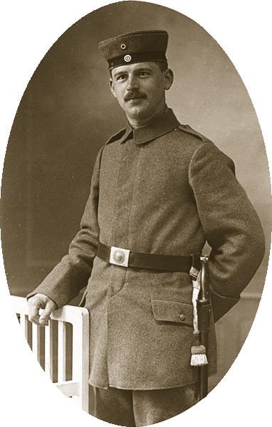 Max Stopp (1914/15) und um 1940 Foto: I. Schwabe