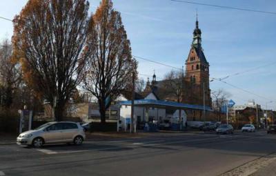 Kreuzung Meißner-/Schildenstraße Foto: U. Hofmann
