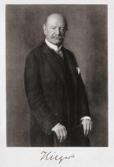 Porträt von Ewald Hilger Foto: Bergarchiv Freiberg