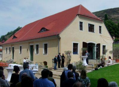 Feierliche Eröffnung am Pressenhaus