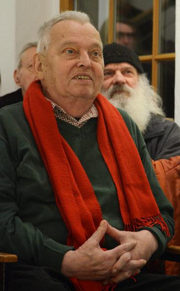 Dieter Beirich während der Eröffnungszeremonie