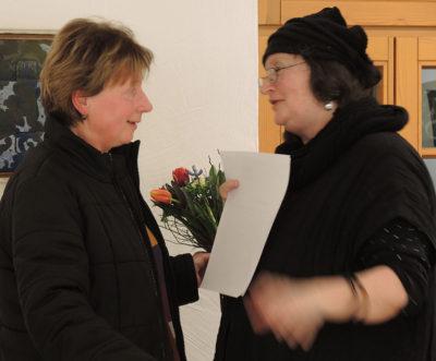 Ute Gebauer im Gespräch mit Karin Baum