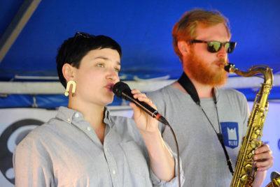 Kristin Amparo und John Runefeld